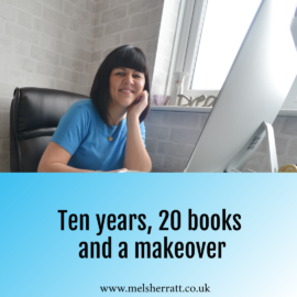 Ten years, twenty books and a makeover