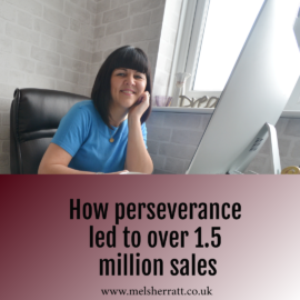 How perseverance led to over 1.5 million sales