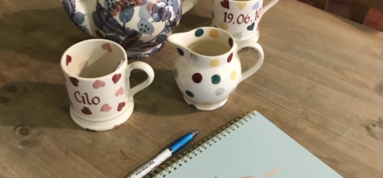 Being adaptable but consistent – diary of a Stoke author